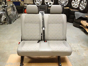 NEW VW TRANSPORTER T5 REAR KOMBI SEAT IN PLACE TRIM SUPPLIED & FITTED ONLY £575