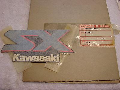 Kawasaki Gas Tank Fuel Cell Emblem 1989 Sx650 56050-1399