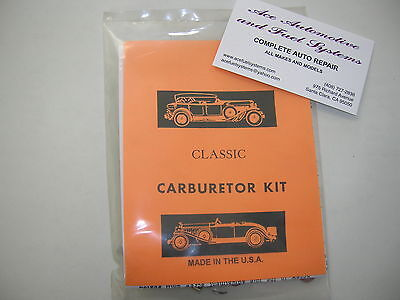 Stromberg Carburetor Model EX, EXV 1BBL Complete Carb Rebuild Kit
