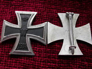 Replica-Copy-aged-WW1-Imperial-Iron-Cross-1st-Class-Medal