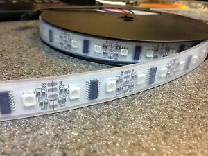 52-LEDs-meter-1M-LPD8806-RGB-LED-strip-IP67-waterproof-USA-shipping