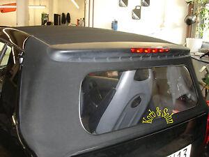 MCC Smart 450 Cabrio Heckscheibe INKL. MONTAGE in 1Std.!! Cabrioscheibe Scheibe