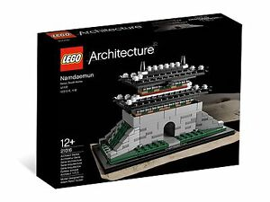 LEGO 21016 ARCHITECTURE Sungnyemun - Brand New Sealed