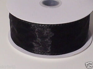 1 1/2 Wired Edge Organza Ribbon (10 Yards)