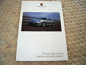 porsche boxster s 996 turbo gt2 911 brochure 2002 ebay. Black Bedroom Furniture Sets. Home Design Ideas