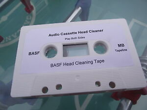 Tapeline BASF Audio Cassette head Cleaner for tape copiers copy duplicator NEW