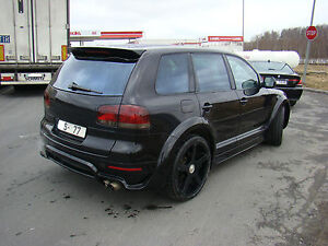 NEW VW TOUAREG 02-10 REAR SPOILER WING     , PRIMED.... TUNING part of body kit