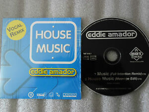Cd eddie amador house music full intention message edit for House music 1998