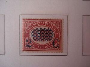 REGNO-1878-2C-5-00-LACCA-SCURO-SOPRASTAMPATI-SASS-35