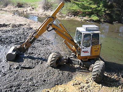 95 Menzi Muck Kaiser Walking Excavator Low Hours Ac