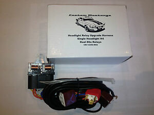 Chrysler-Valiant-Regal-Charger-VJ-VH-CM-Head-Light-Twin-40a-Relay-Harness-Loom