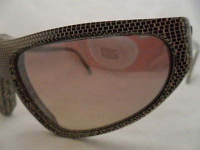 VINTAGE OPTICAL AFFAIRS NEW YORK MOD 011394/9WZ GRAY DOTS PLASTIC RARE FRAME on Rummage