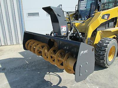 Paladin Ffc 72 Skid Steer Loader Snow Blower Attachment - 1 Yr Warranty