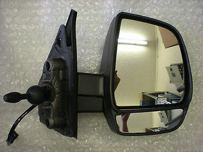 Vauxhall Combo 2012- O/S Twin Glass Door Mirror With Indicator Driver Side