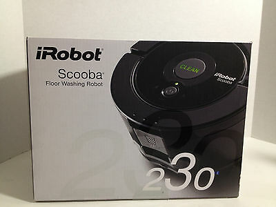 iRobot SCOOBA 230 Floor Washing Robot BRAND NEW FREE SHIP USA Ships Worldwide!! on Rummage