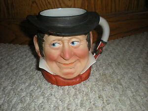 Norman-Rockwell-Toby-Mug-RARE-Saturday-Evening-Post-1979-Dave-Grossman-Cowboy