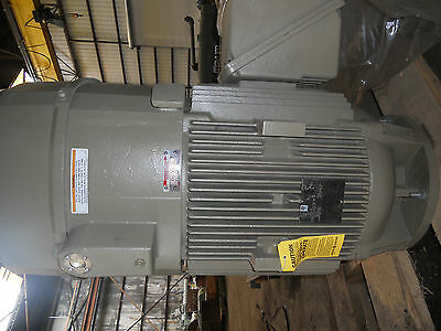 G.e. Vertical Electric Motor 100hp Vhs Tefc 405tp16 1750rpm Hi Eff.