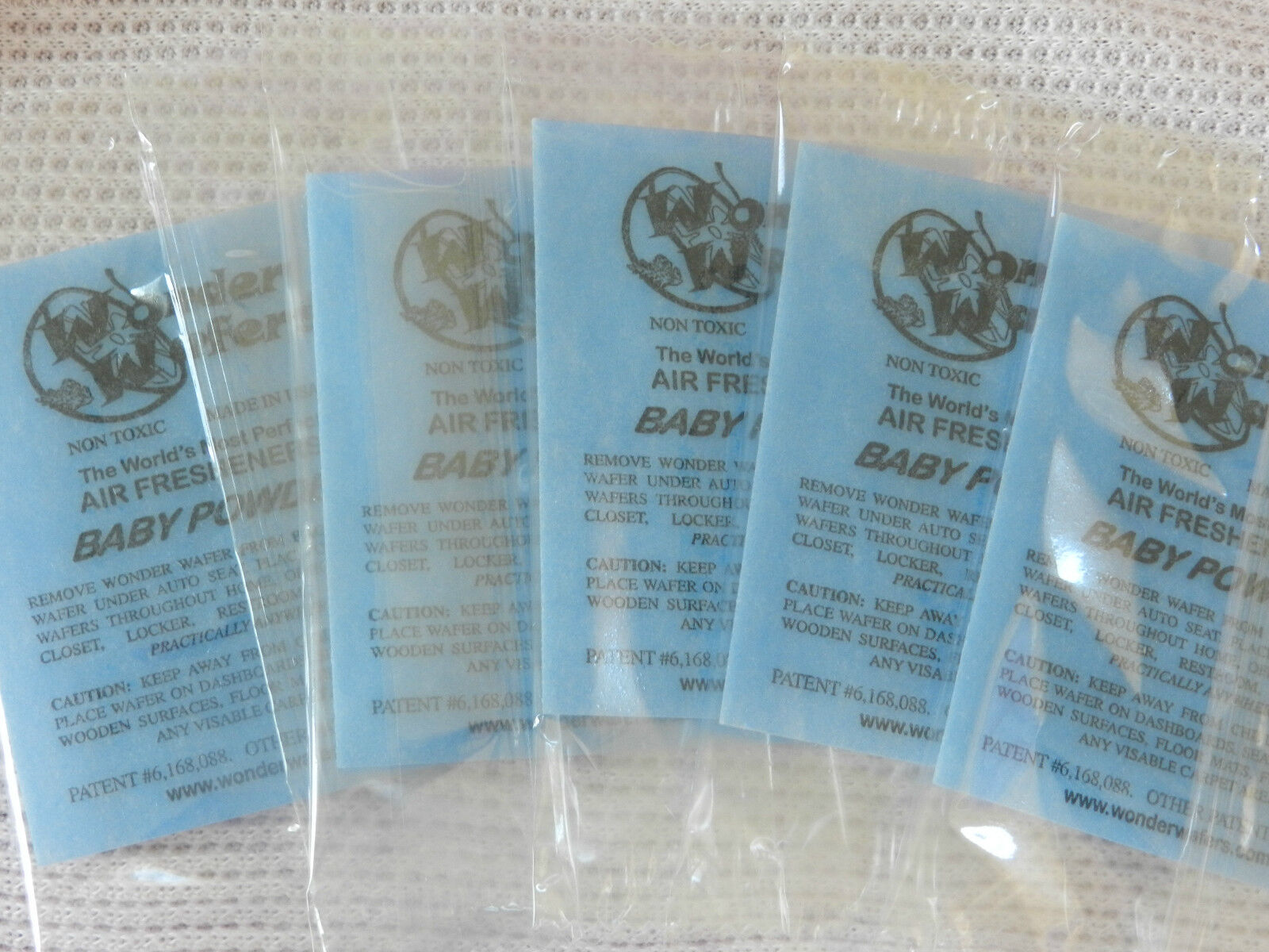 Wonder Wafers( Lot Of 5) Baby Powder Scent for Reborn Baby.**Super Low Price