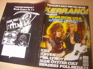 KERRANG-Great-Classic-Rock-Heavy-Metal-magazine-IRON-MAIDEN-CENTRE-pic-112