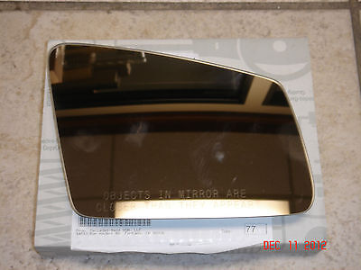 Mercedes-Benz C CL CLS E GLK S Class Genuine Right Side Mirror Glass NEW