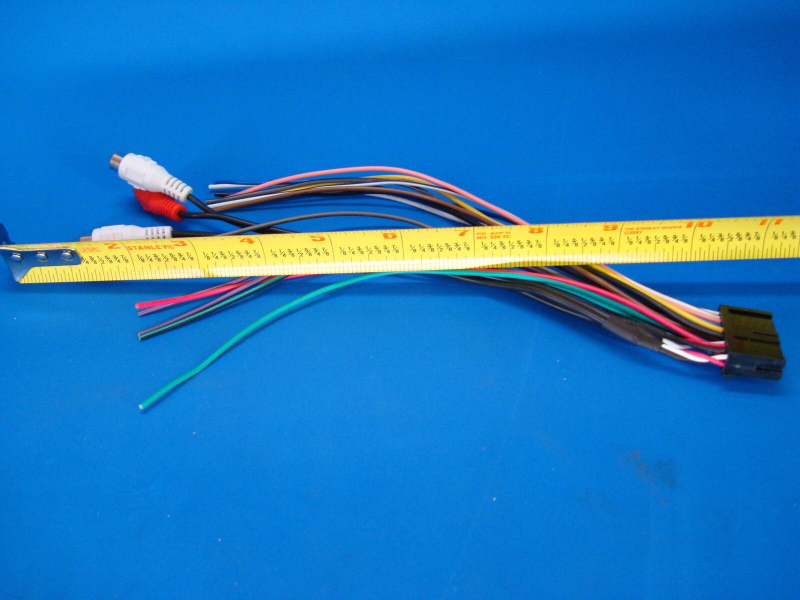 dual radio power plug stereo wire harness 20pin cd mp3 dvd ... 20 pin radio wiring diagram dual #1