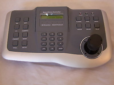Us-k802,speed Dome Control Keyboard For Ptz Camera Pelco D/p Protocol
