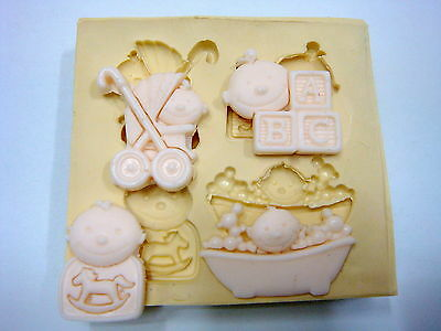Sugarcraft Molds,Cake Decoratings,Baby Mold,Cupcake,Clay,Soap - Baby #1