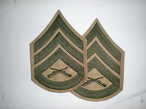 USMC-STAFF-SERGEANT-RANK-GREEN-KHAKI-1-PAIR