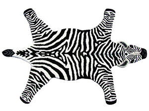 Wool Zebra Rug Ebay