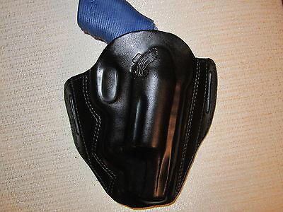 Fits Taurus 4510 Poly Public Defender, Formed Leather,owb, Pancake Belt Holster