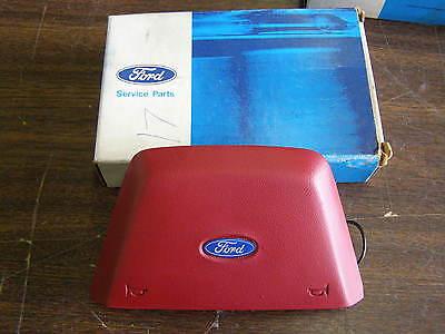 NOS 1984 1985 1986 Ford LTD Crown Victoria Steering Wheel Pad Taurus Red