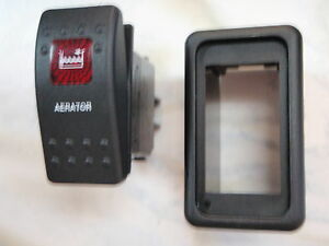 AERATOR-SWITCH-WITH-VMS-PANEL-PUMP-CARLING-V1D1-1-RED-LENS-BLACK-CONTURA-II