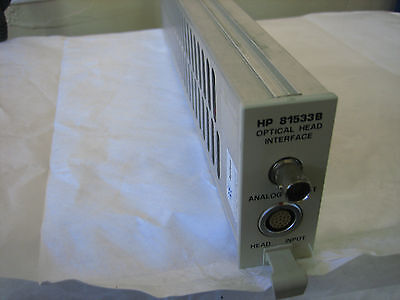 Hpagilent 81533b Optical Interface Module