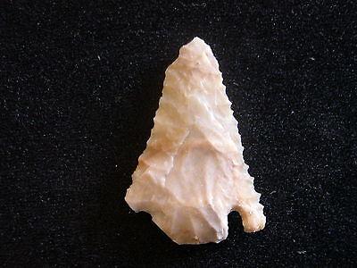 Bell Arrowhead Serrated Texas Native American Stone Artifact Rare Arrowhead