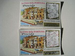 GRATTA E VINCI-LE CITTA' DELLA FORTUNA-PROCIDA FONDO BLU- VINCENTE TRE SETTE - Italia - GRATTA E VINCI-LE CITTA' DELLA FORTUNA-PROCIDA FONDO BLU- VINCENTE TRE SETTE - Italia
