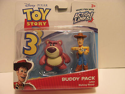 Toy Story Buddy Pack Lotso & Walking Woody In Pack