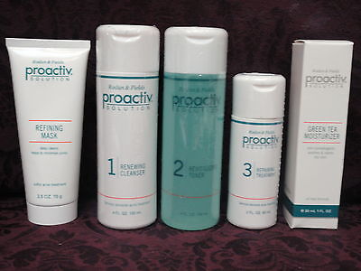 Proactiv 60 day 5pc Kit (3pc+Mask+Green Tea Moisturizer) New Formula Proactive on Rummage