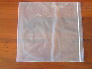 Plastic Record Sleeves 200 Lp Outer Clickseal NEW