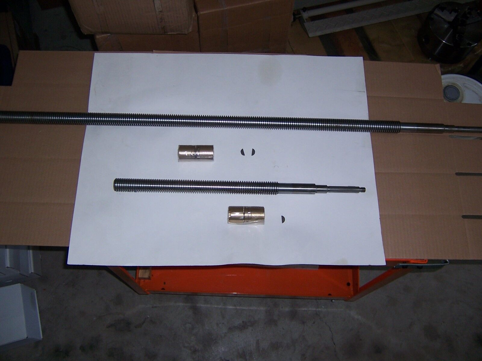Bridgeport Leadscrew Manual Cross Feed Assembly, X And Y Axes, 9x42 Table new