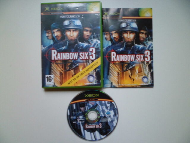 X BOX ORIGINAL PAL GAME RAINBOW SIX 3 NOT TO BE SOLD SEPARATELY