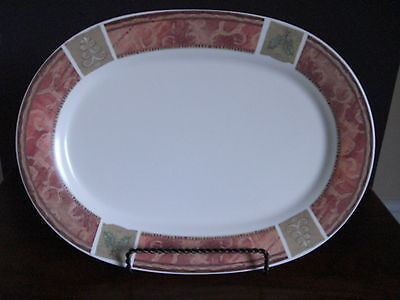 Pfaltzgraff HOLIDAY SPICE Oval Serving Platter 14.5
