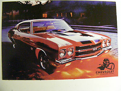 1970 Chevrolet Chevelle Ss Heritage One Hundred Years Postcard