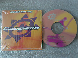 Cd cappella tell me the way house music bortolotti picotto for House music 1995