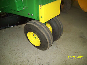 JOHN DEERE 110,112 NARROW FRONT KITS FOR ROUND OR SQUARE FENDERS