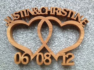 Wooden-Entwined-hearts-Custom-made-wedding-anniversary-gift-with-two-names