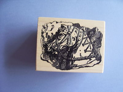 100 Proof Press Rubber Stamps Horse Frieze Stamp