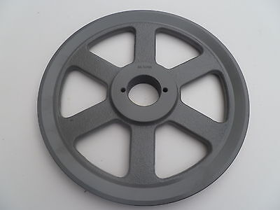 Cast Iron Pulley Sheave 10.25 For Electric Motor 1 Groove 3l 4l & A Belts
