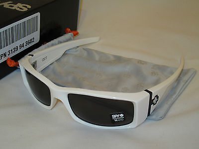 BRAND NEW SPY Optic Hielo White Grey Sunglasses HEWH00  FAST FREE SHIPPING! on Rummage