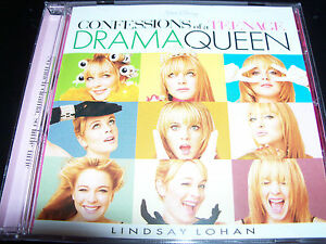 Confessions-Of-A-Teenage-Drama-Queen-Original-Soundtrack-CD-Feat-Lindsay-Lohan