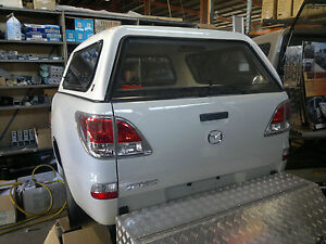 DUAL CAB UTE CANOPY FOR MAZDA BT50 2012+ SMOOTH FINISH - CURRENT MODEL